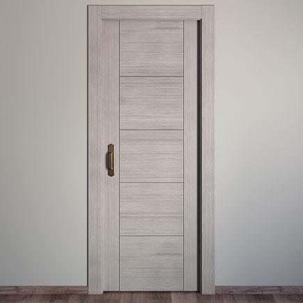 Puerta de interior maciza noruega roble gris ref 16780071 - Puertas de interior leroy merlin ...