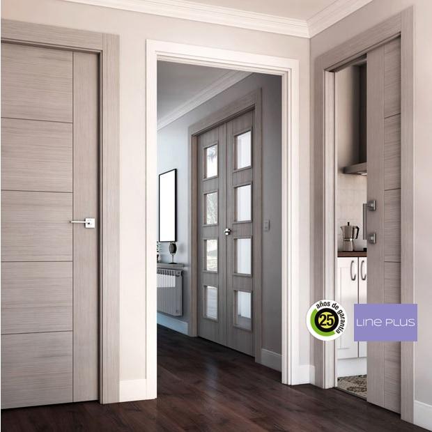 Puertas de madera maciza para interior y exterior - Puertas casa interior ...