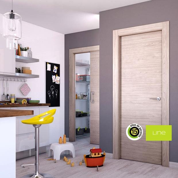 Puertas de interior de madera leroy merlin for Puertas de interior baratas