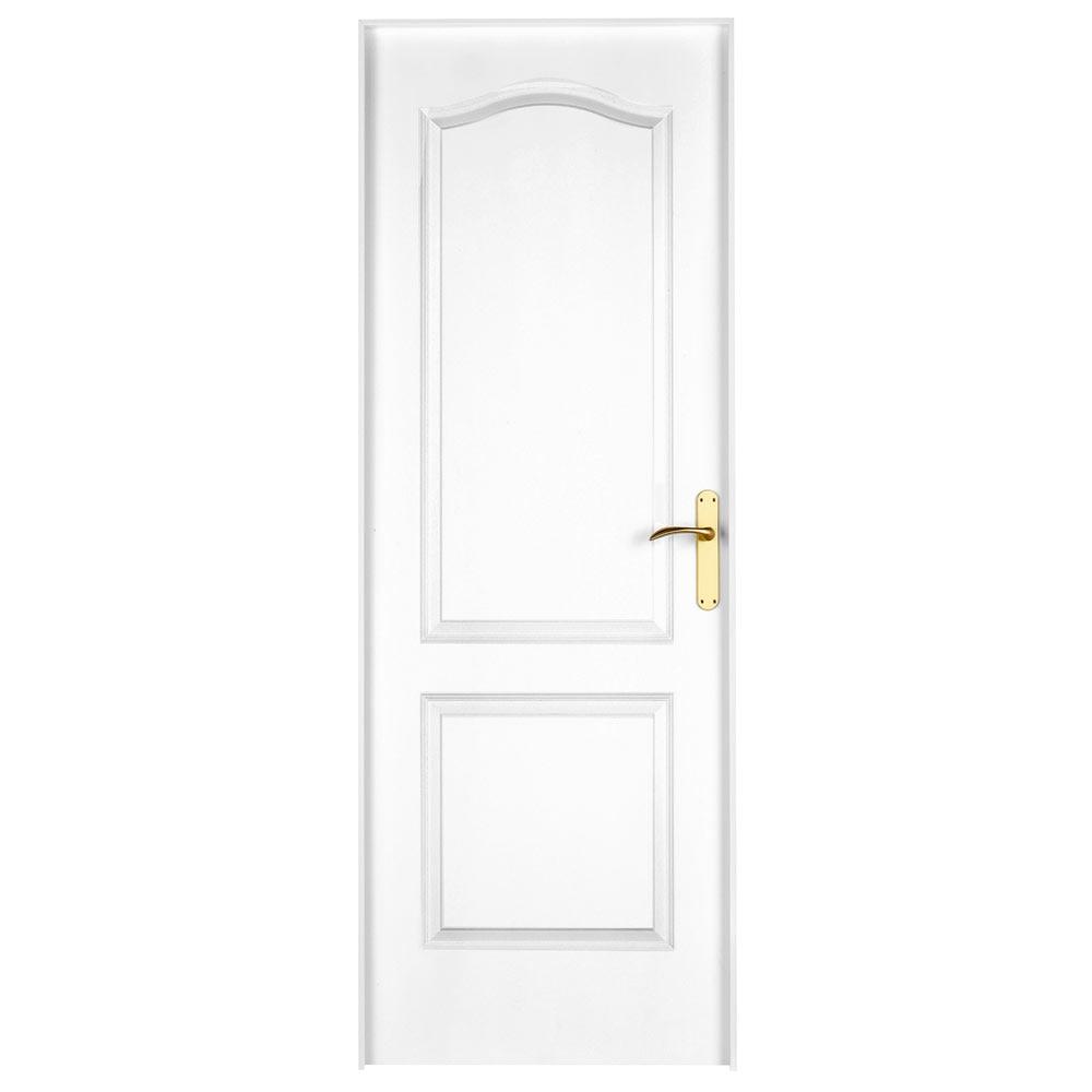Puerta De Interior Praga Blanca Ref 14995246 Leroy Merlin ~ Puertas Lacadas Blancas Leroy Merlin