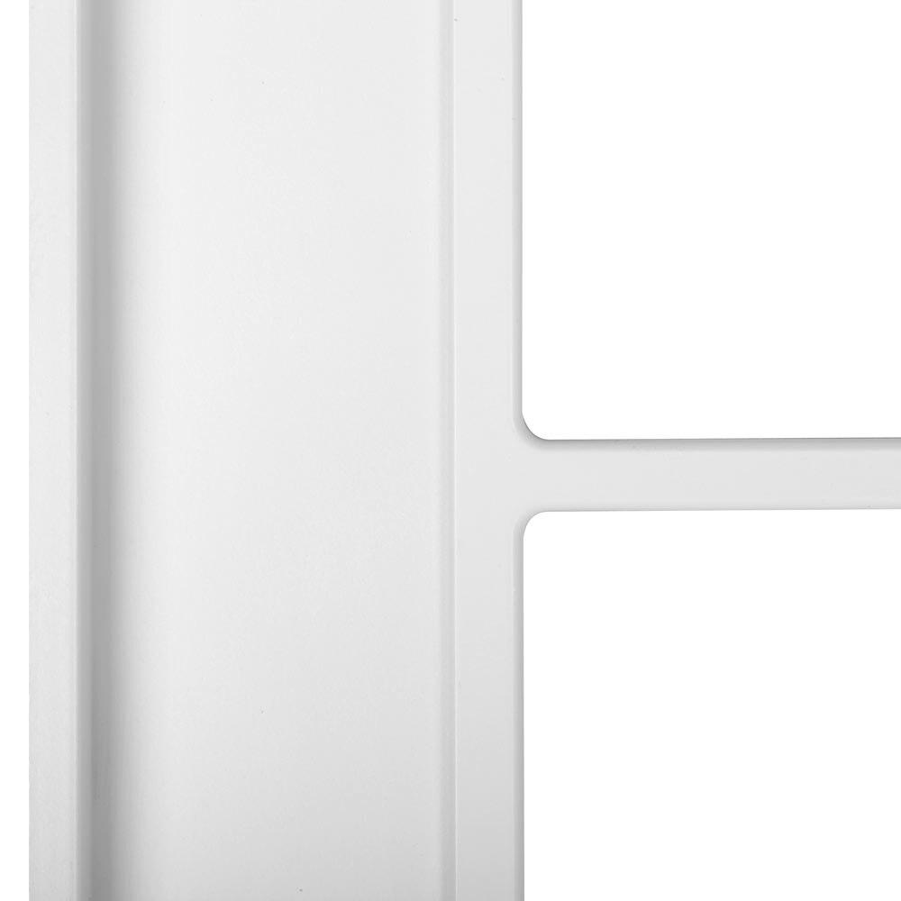 Puerta de interior con cristal praga blanca ref 15718633 for Puerta blanca cristal