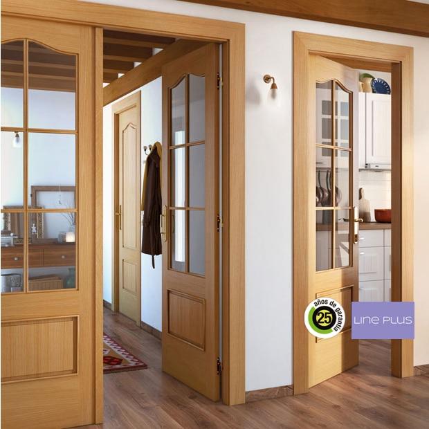 puertas de interior de madera leroy merlin On vidrio interior leroy merlin
