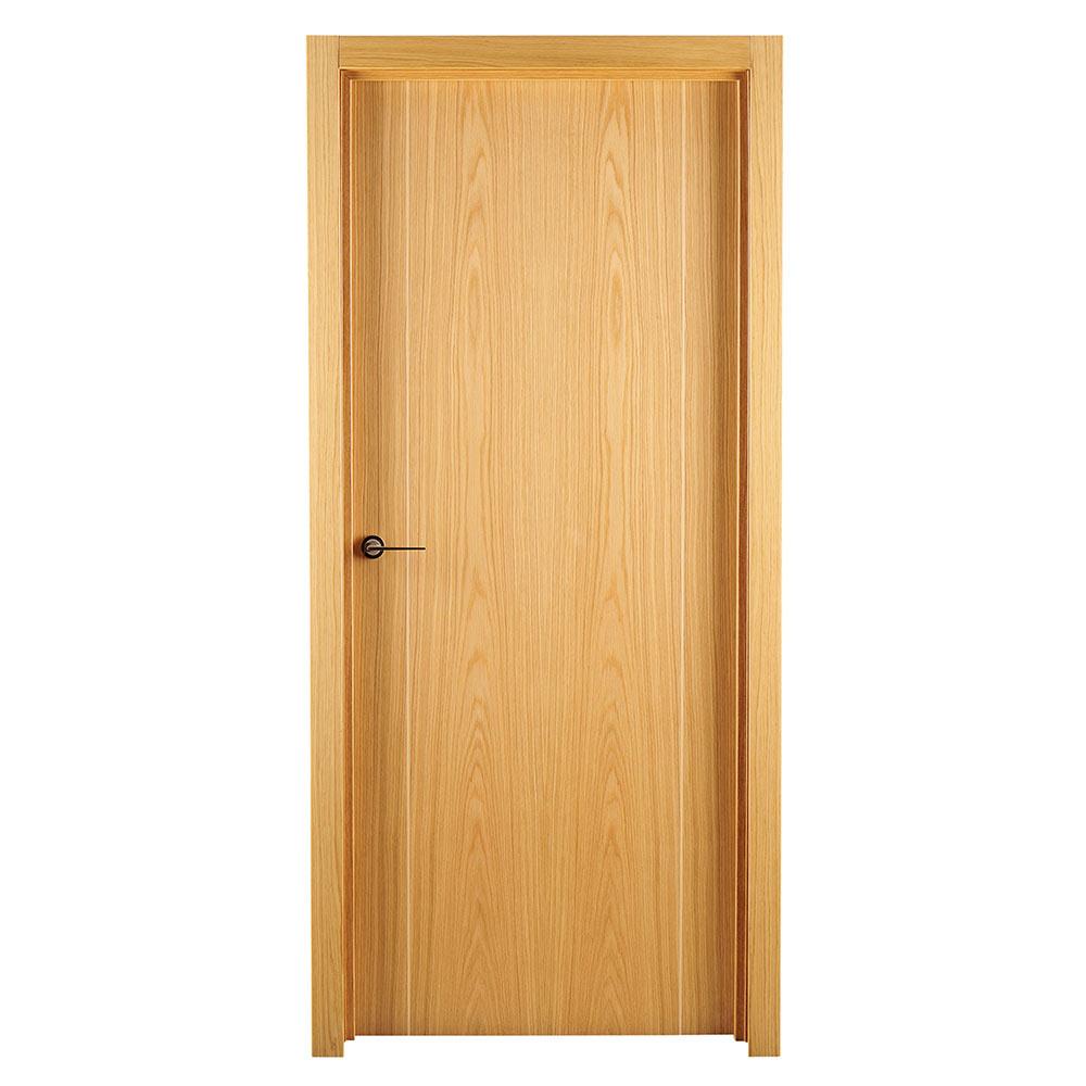 Puerta de interior maciza sidney roble ref 16779161 for Puertas de roble interior