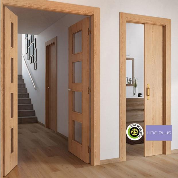 Puertas de interior de madera leroy merlin for Puertas madera interiores catalogo