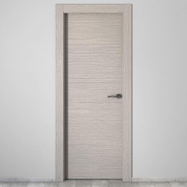 puerta de interior maciza viena roble gris ref 16778853