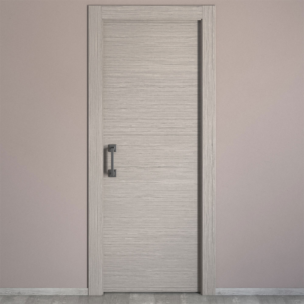 puerta de interior maciza viena roble gris ref 16779063 On puertas de interior grises