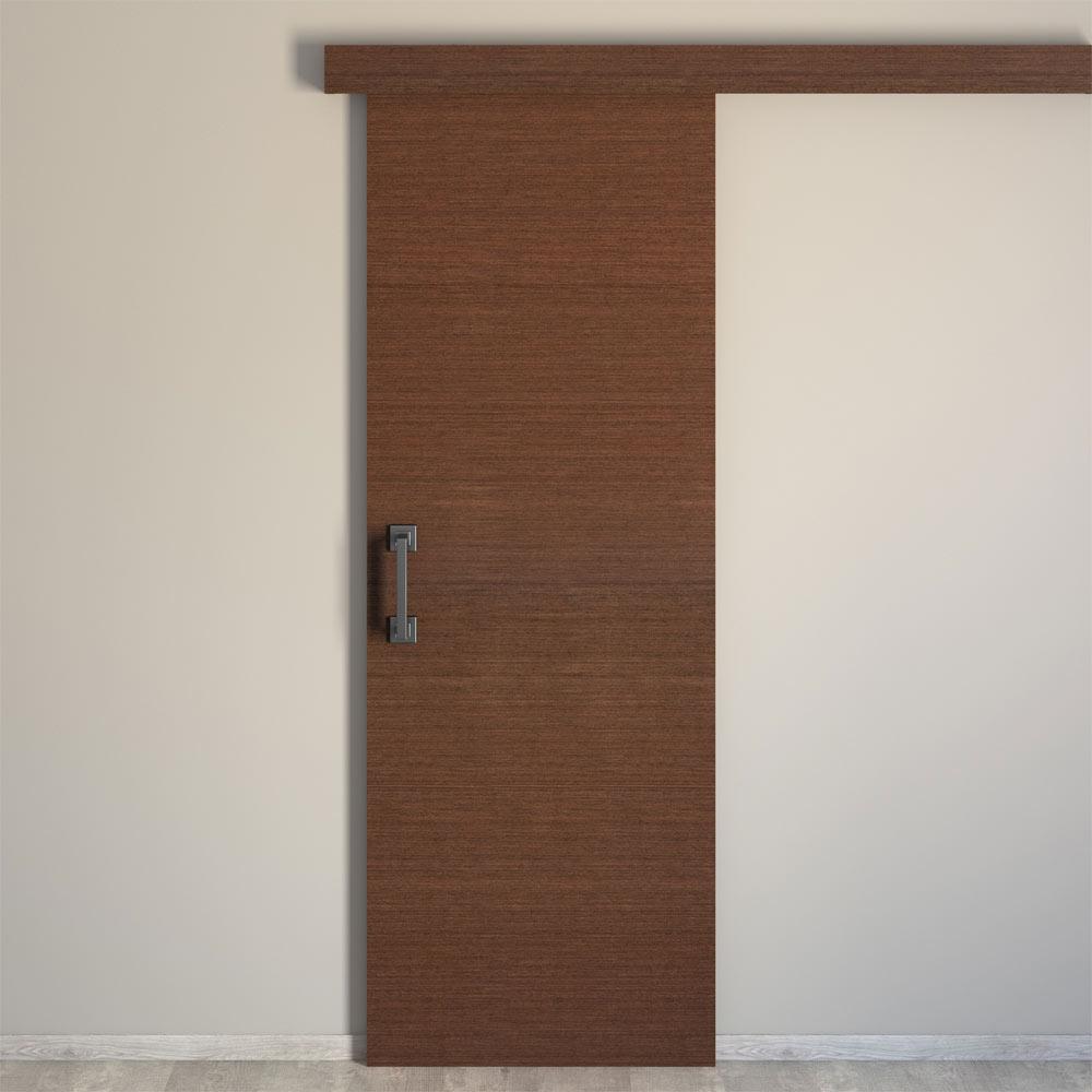 Puerta de interior maciza viena wengue ref 16778552 for Puertas leroy merlin