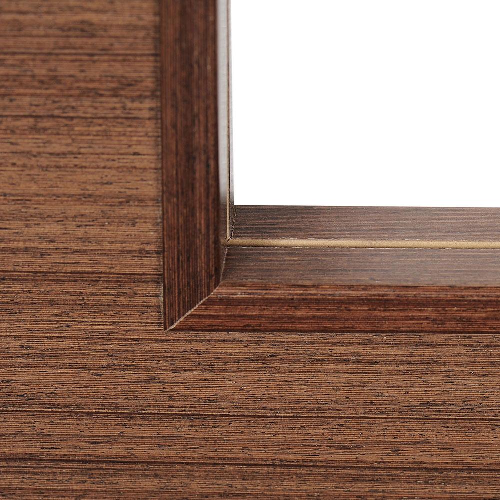 Puerta de interior con cristal viena wengue ref 16778615 for Puertas wengue leroy merlin