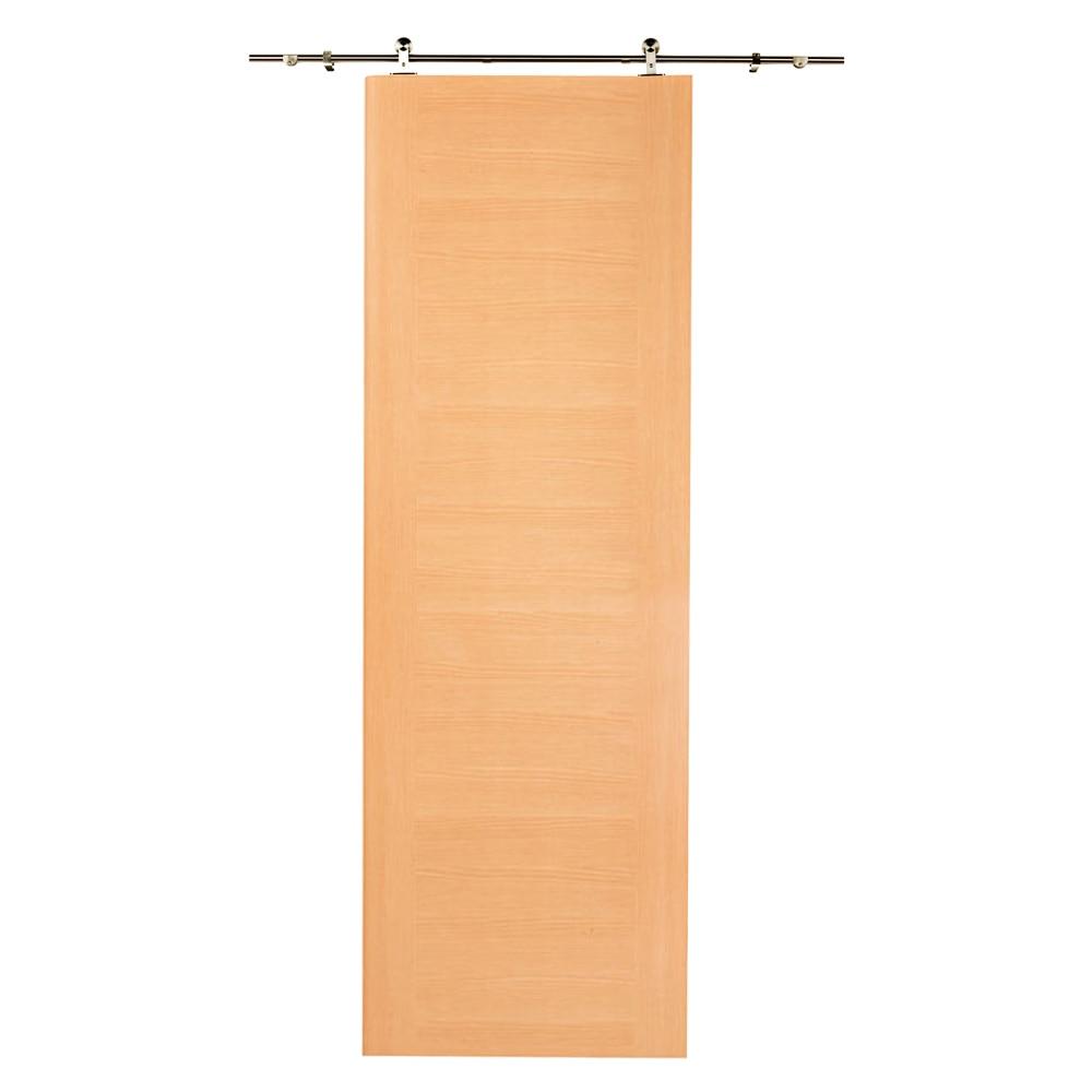 Gu a para puerta corredera de madera artens gu a techno ref 14960533 leroy merlin - Guia para puerta corredera ...