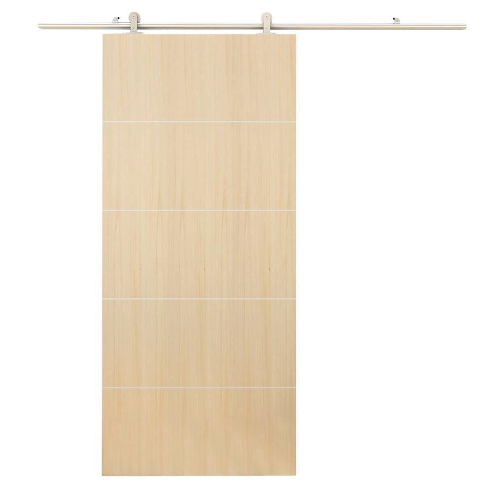 Guia para puerta corredera madera materiales de - Guia puerta corredera ...