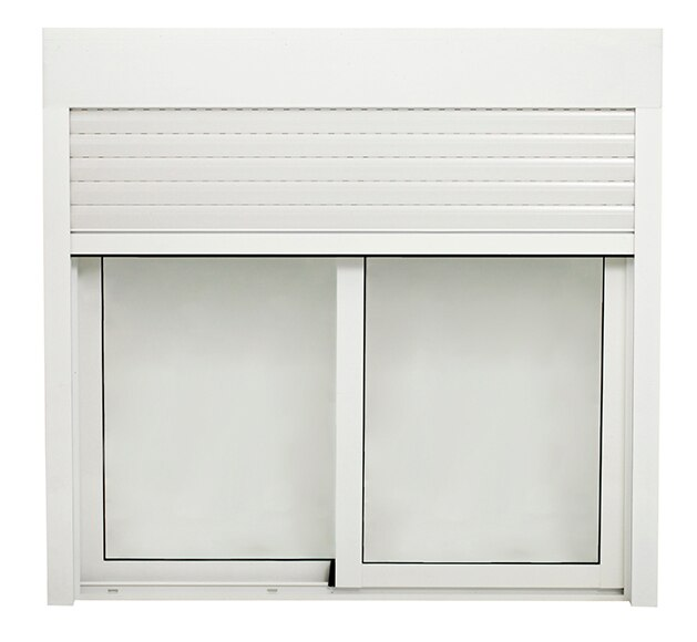 Ventana aluminio corredera de 120 x 115 cm 2 hojas - Leroy merlin ventanas de aluminio ...