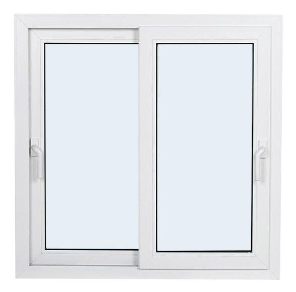 Corredera blanca corredera blanca ref 360203 for Puertas correderas de pvc precios