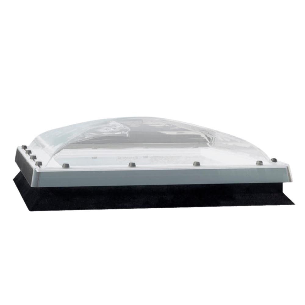 Ventana de techo fakro cubierta plana manual con cupula for Pladur leroy merlin techo