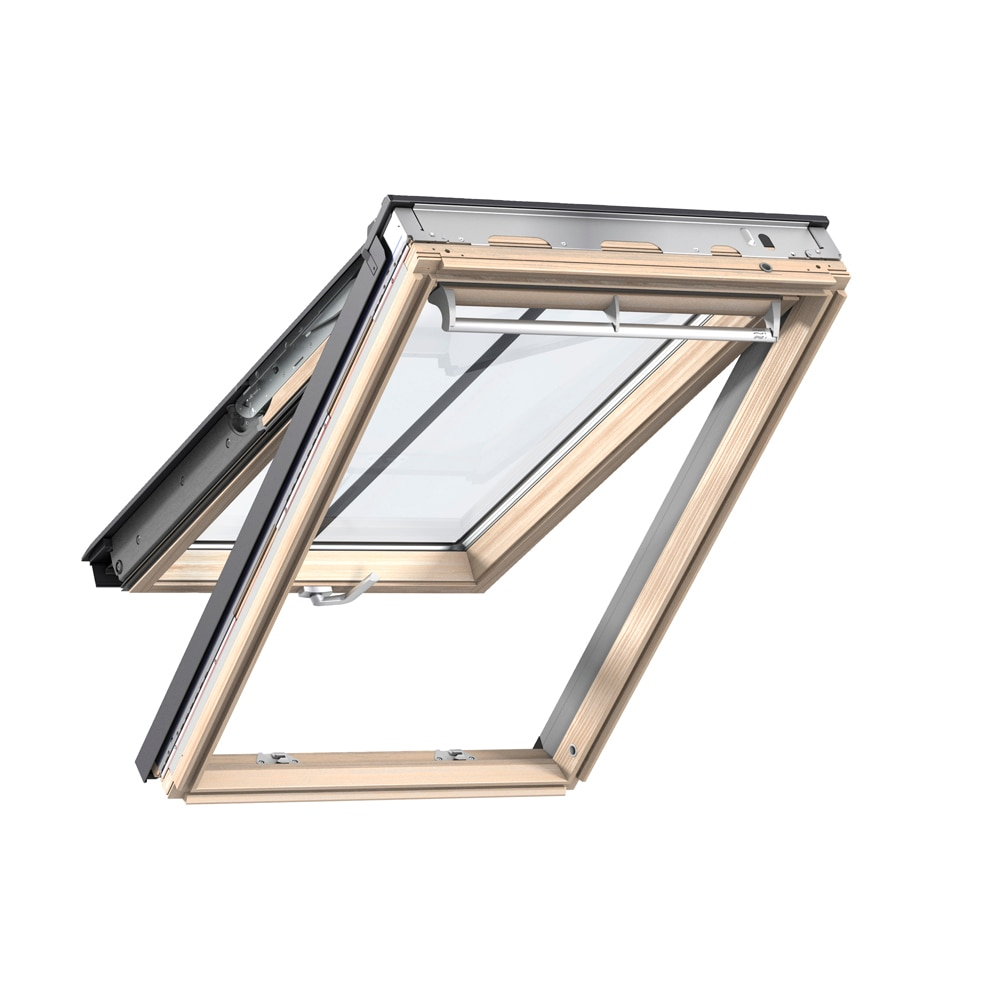 Ventana de techo velux proyectante manual madera prot for Finestre velux manuali