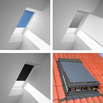 cortinas para ventanas de techo