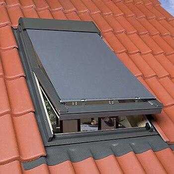 Cortinas para ventanas de techo estores plisados de tela - Tela toldo leroy merlin ...