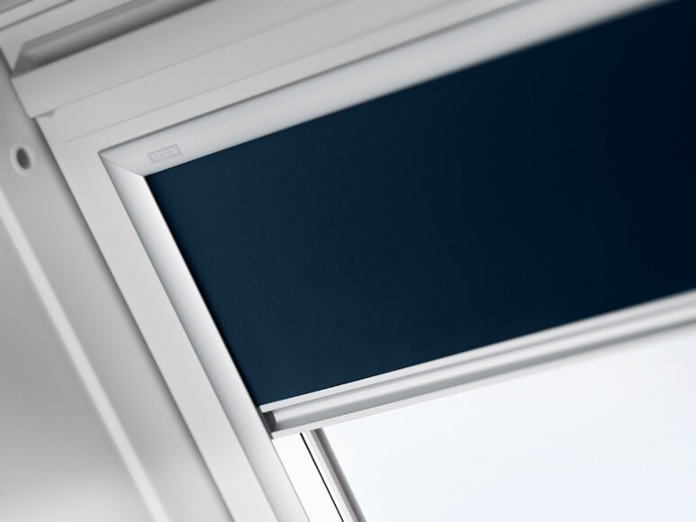 Cortina ventana de techo velux dkl s06 1100s cortina de - Cortinas azul marino ...