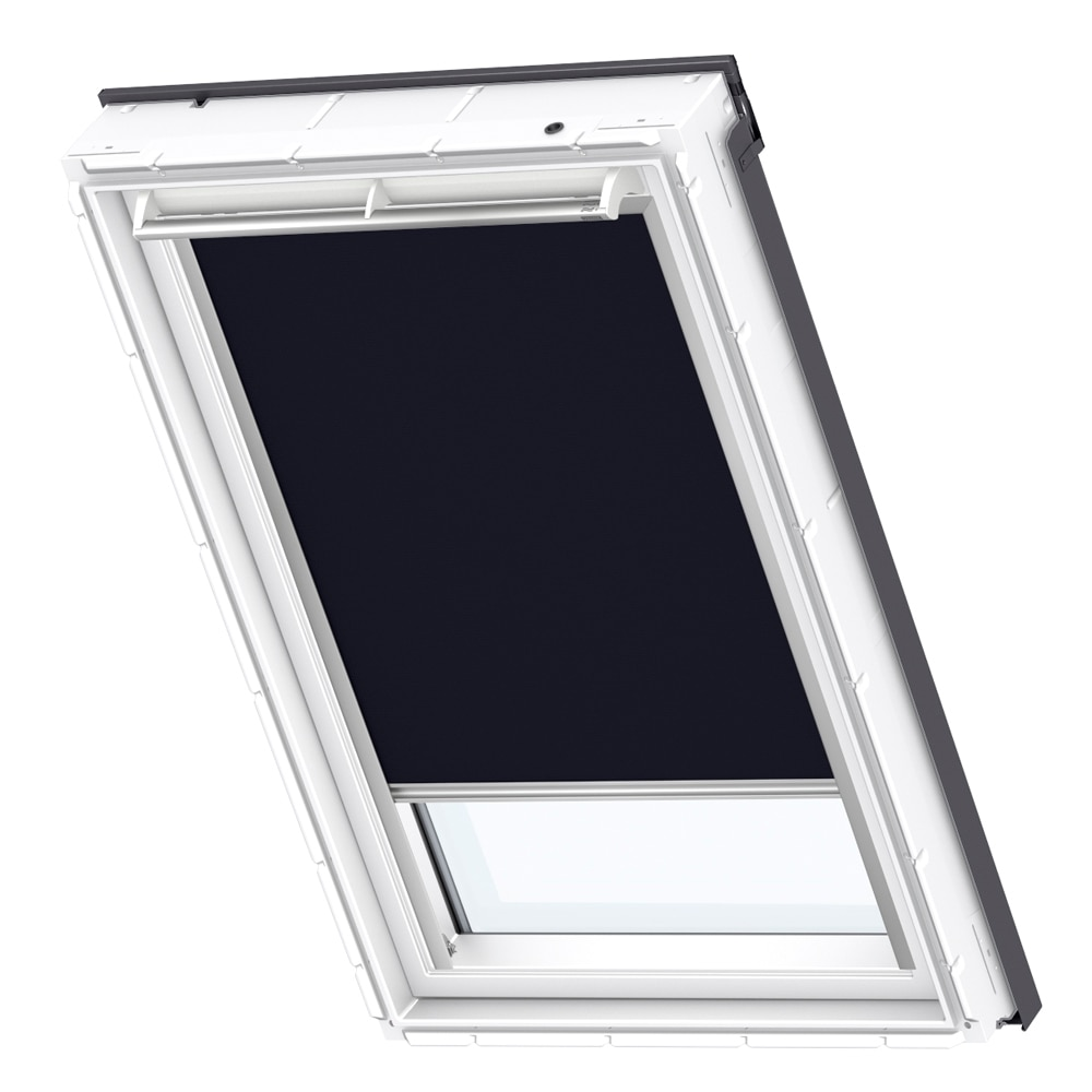 Cortina ventana de techo velux manual azul marino dkl 1100 for Compensato marino leroy merlin