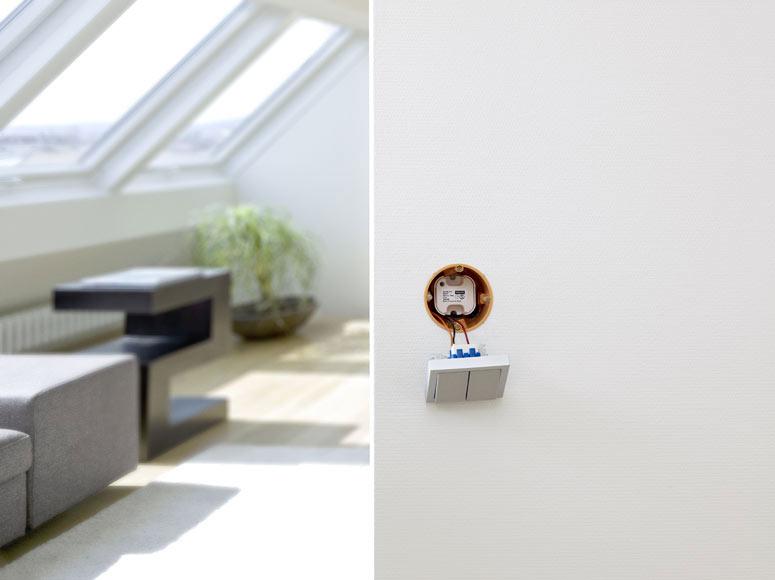 pulsador interface velux klf 050 ref 16469166 leroy merlin. Black Bedroom Furniture Sets. Home Design Ideas