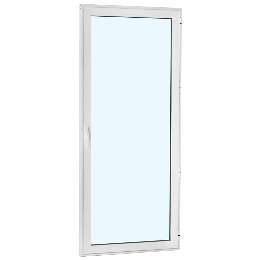 Balconera aluminio 1hoja practicable leroy merlin - Puerta balconera aluminio ...