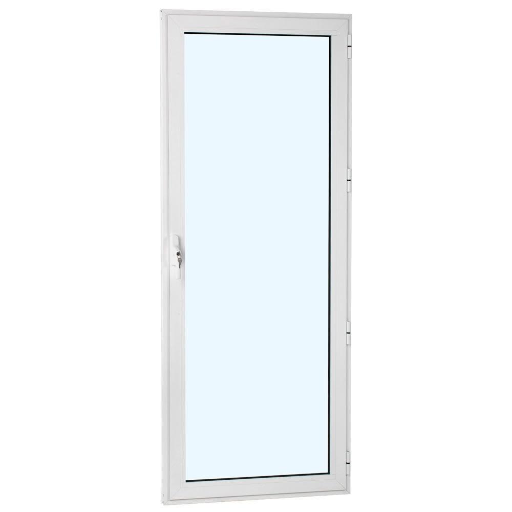 Balconera aluminio 1hoja practicable bloqueo leroy merlin Puerta balcon aluminio medidas