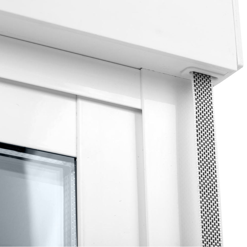 Balconera balconera aluminio 2 hojas corredera persiana for Kit de persianas