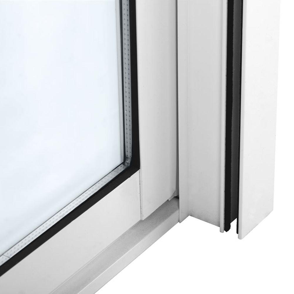 Balconera balconera aluminio 2 hojas corredera persiana - Puertas correderas jardin leroy merlin ...