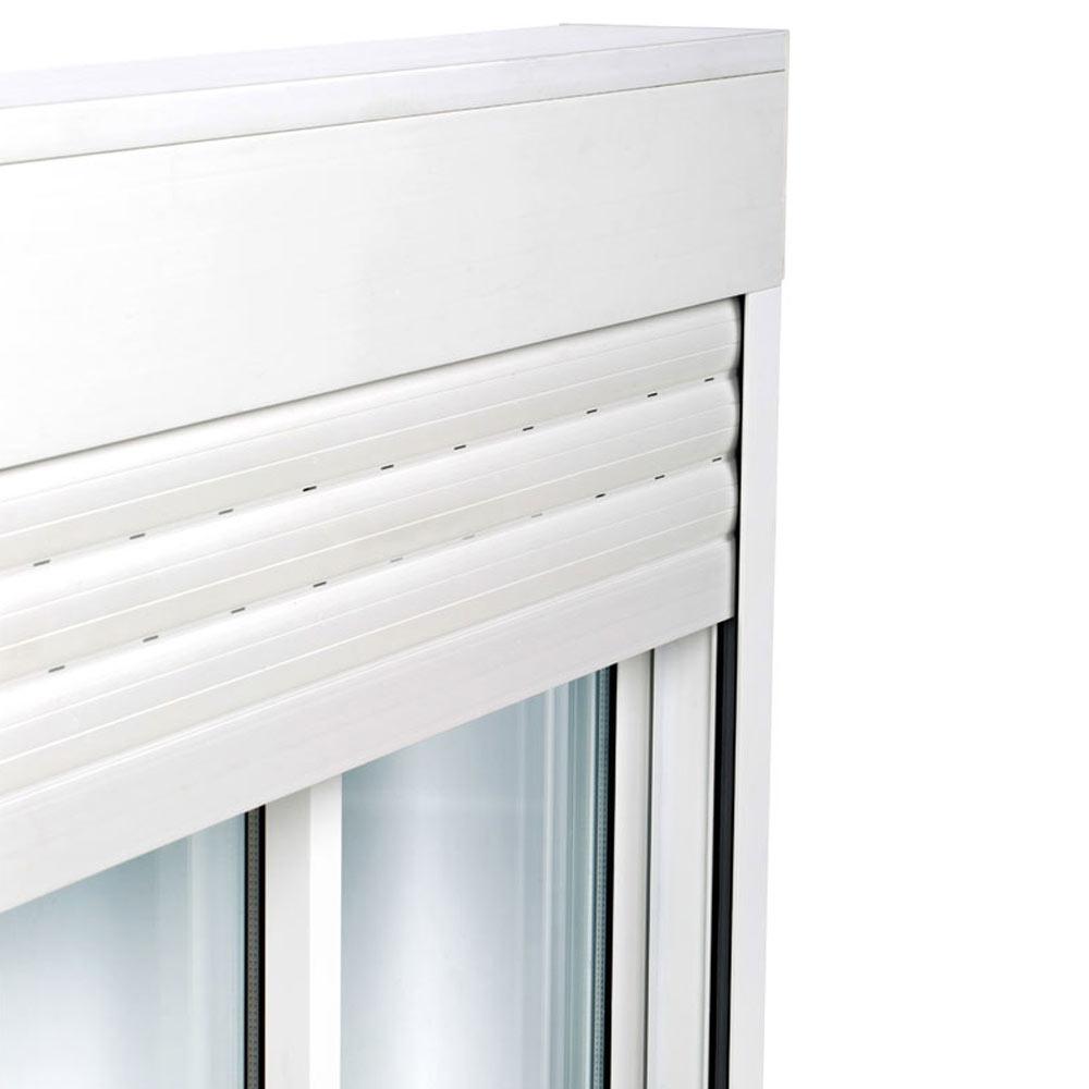 balconera balconera aluminio 2hojas corredera persiana ref