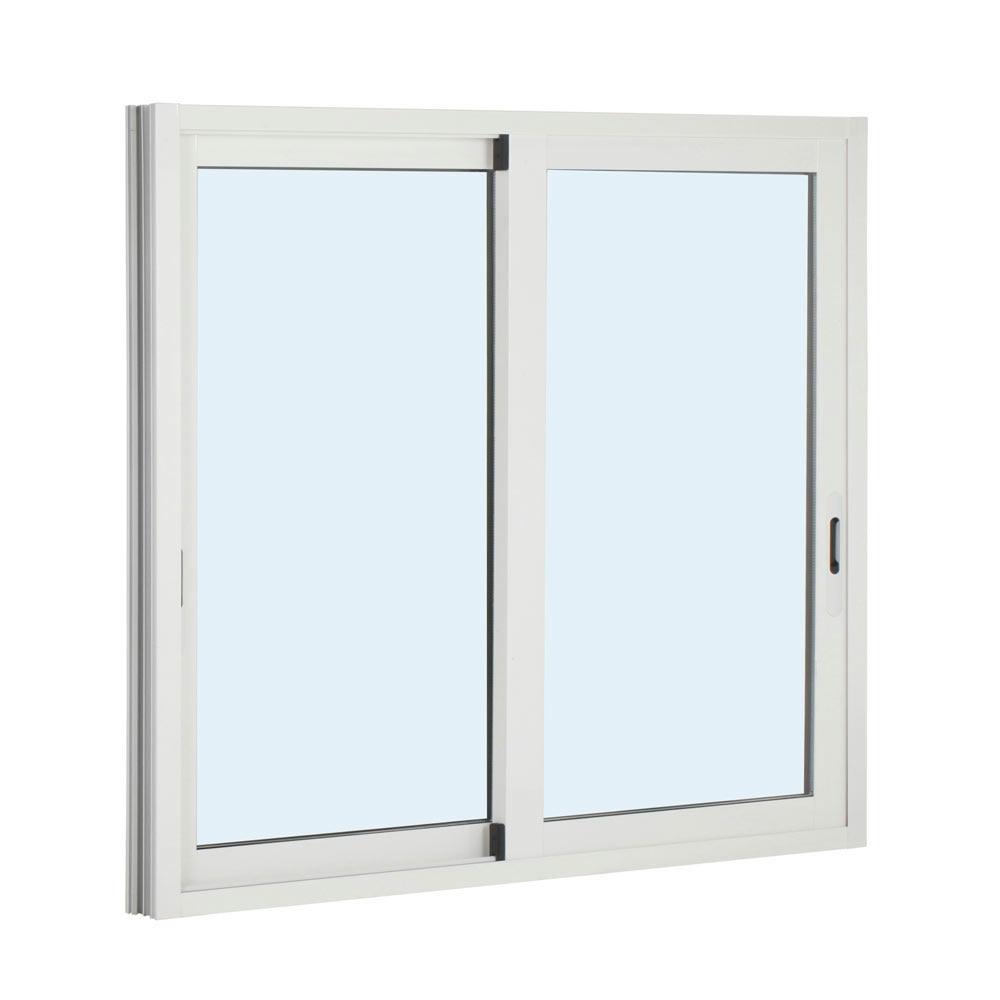 Ventana ventana aluminio 2hojas corredera ref 15916775 for Correderas de aluminio