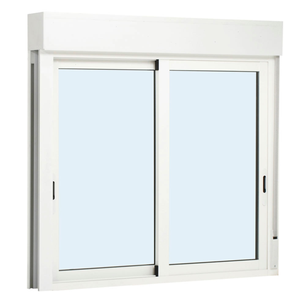 Ventana ventana aluminio 2hojas corredera persiana ref for Correderas de aluminio precios
