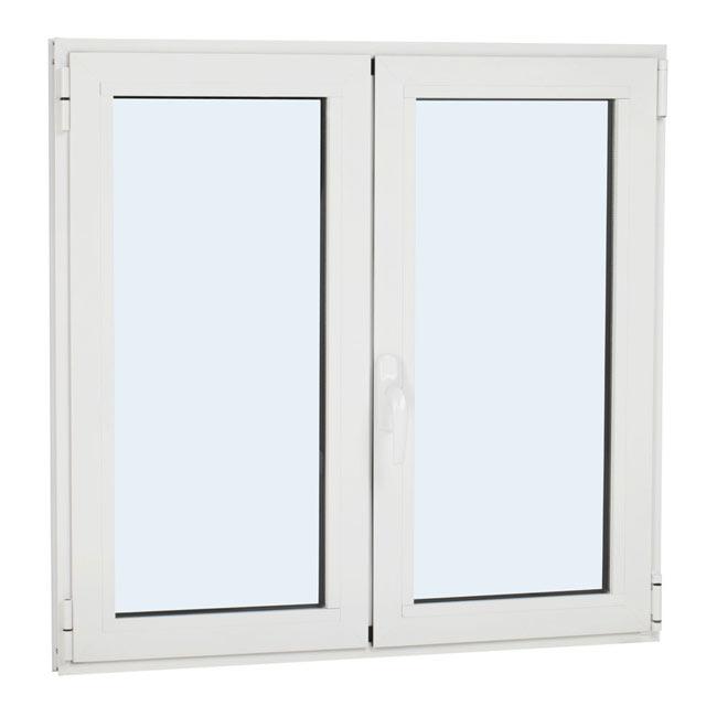 Ventana ventana aluminio 2hojas oscilo ref 15917195 for Colores de aluminio para ventanas