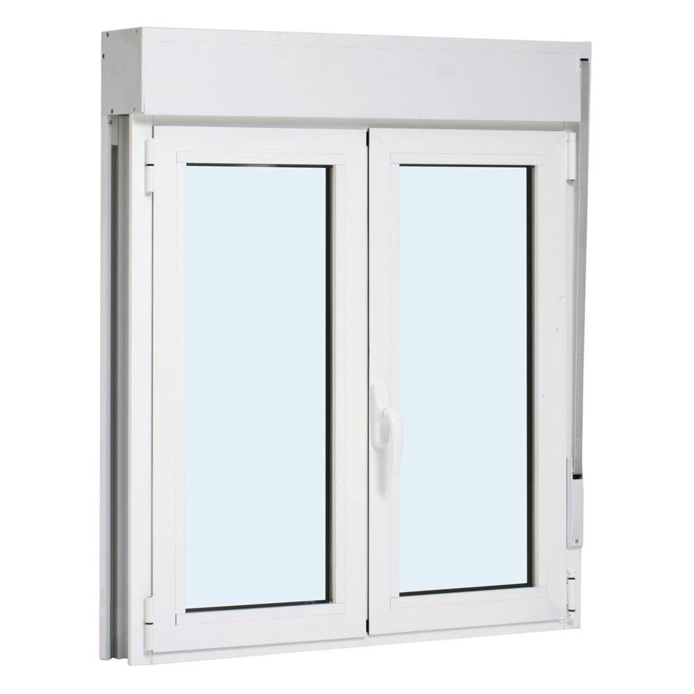 Ventana ventana aluminio 2hojas oscilo persiana ref for Precio ventanas aluminio climalit persiana