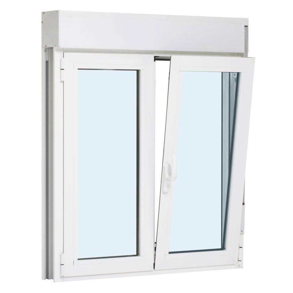 Ventana aluminio 2hojas oscilo persiana leroy merlin for Ventana aluminio 120x120