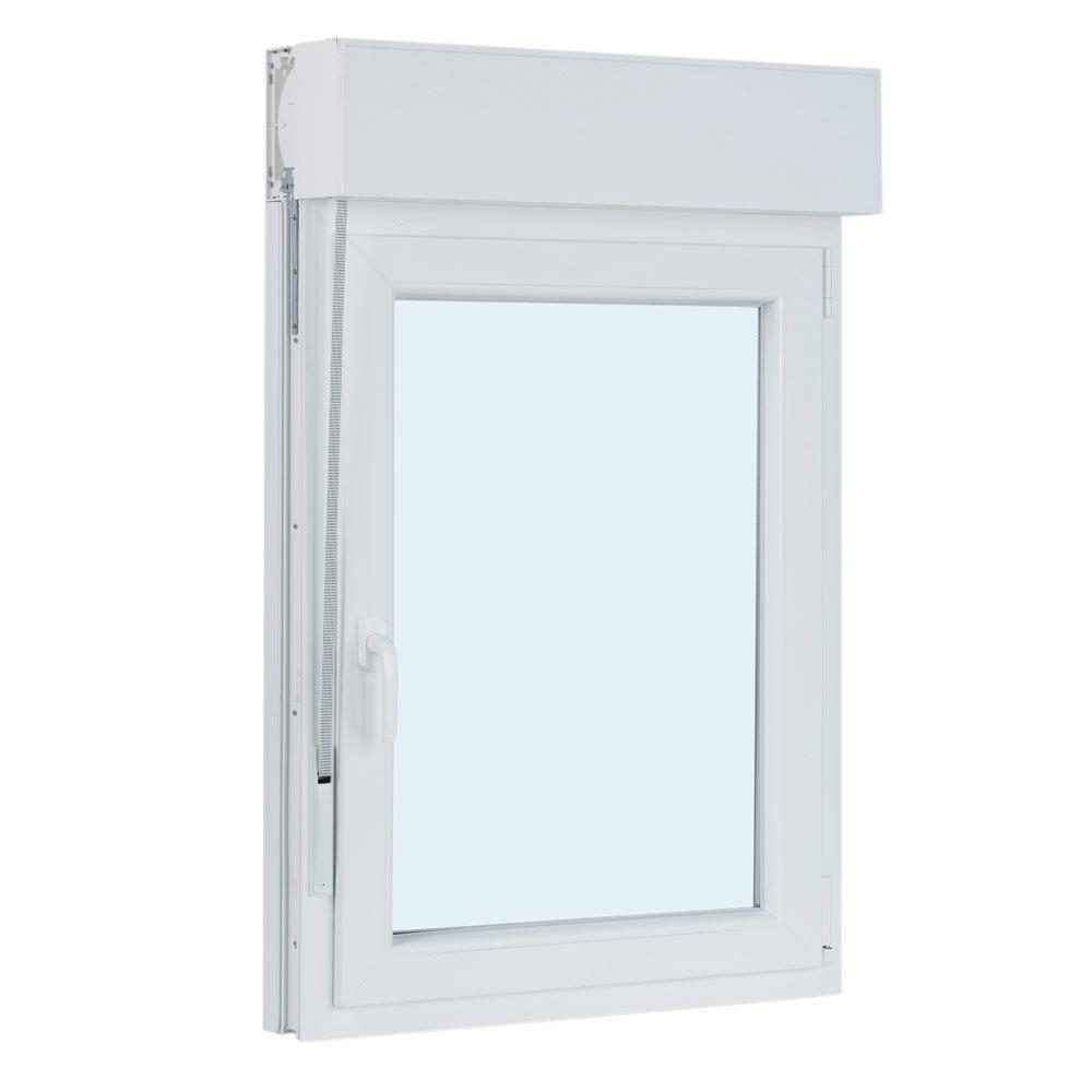 Ventana ventana pvc 1hoja oscilo persiana ref 17987095 - Leroy merlin ventanas pvc ...