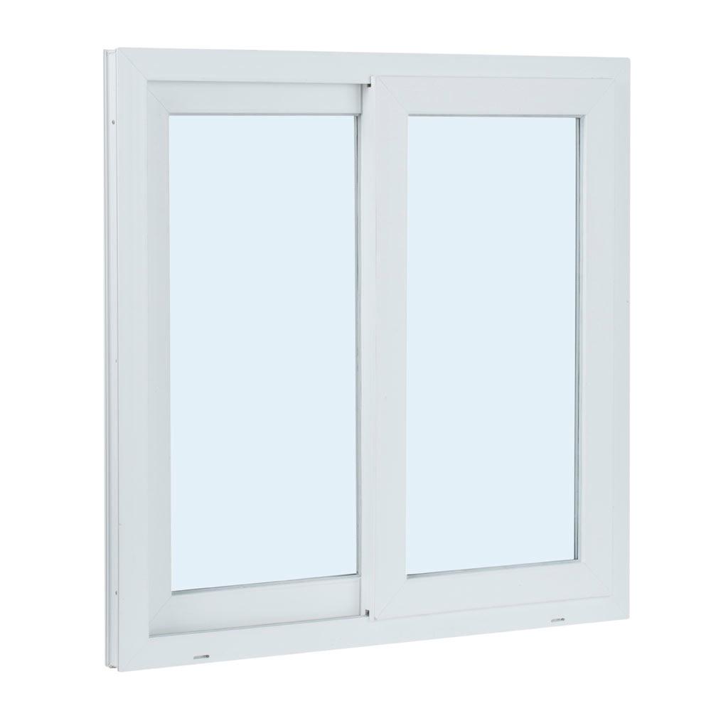 Ventana ventana pvc 2hojas corredera ref 15914080 leroy for Pvc leroy merlin