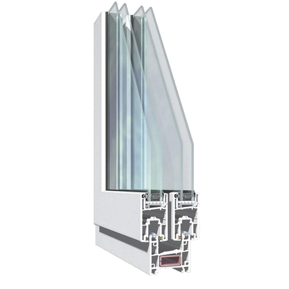 Ventana ventana pvc 2hojas corredera ref 15914080 leroy - Plancha pvc leroy merlin ...