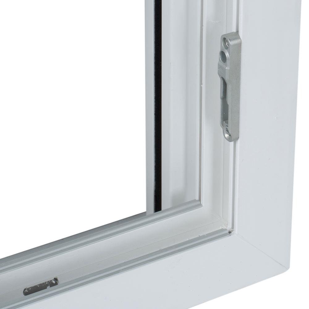 Ventana ventana pvc 2hojas corredera ref 15914094 leroy for Ventana corredera pvc