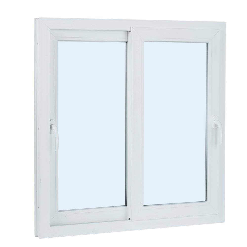 ventana ventana pvc 2hojas corredera ref 15914101 leroy