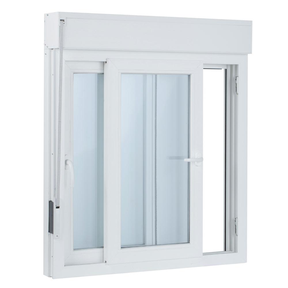 Ventana pvc 2hojas corredera persiana leroy merlin - Leroy merlin ventanas pvc ...