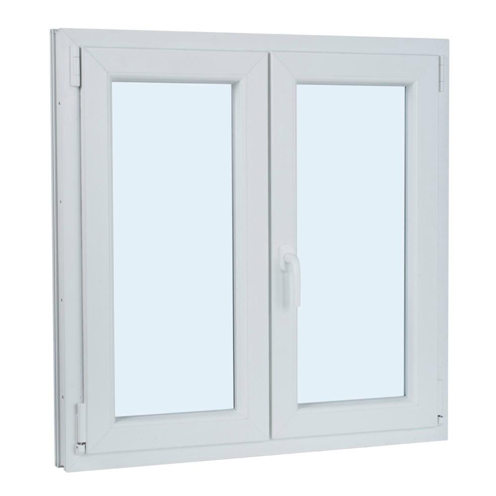 Ventana ventana pvc 2hojas oscilo ref 17987242 leroy merlin for The ventana