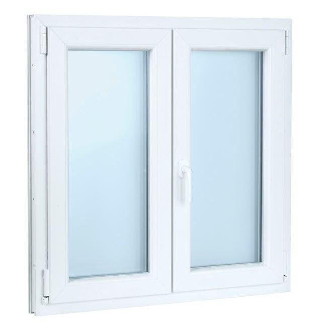 Ventana ventana pvc 2hojas oscilo ref 17987284 leroy merlin - Leroy merlin ventanas pvc ...
