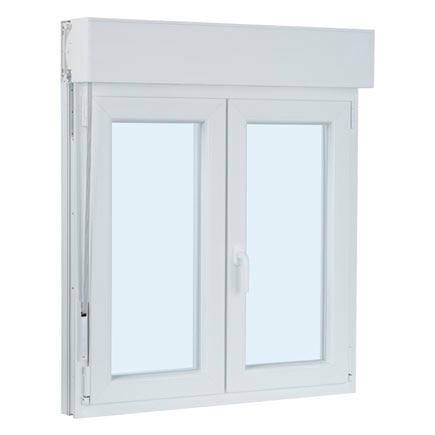 Ventana ventana pvc 2hojas oscilo persiana ref 17987312 - Finestre pvc leroy merlin ...