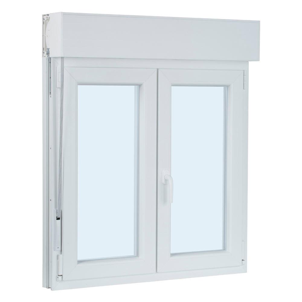 Ventana ventana pvc 2hojas oscilo persiana ref 17987312 - Leroy merlin ventanas pvc ...