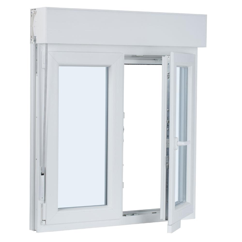 Ventana ventana pvc 2hojas oscilo persiana ref 17987340 - Porta pvc leroy merlin ...