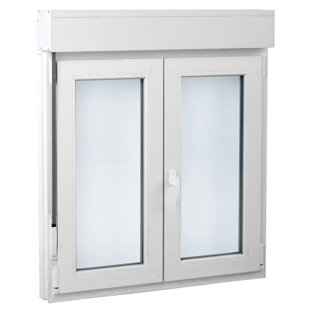 Ventana ventana pvc 2hojas oscilo persiana basic ref for Ventanas con persianas incorporadas