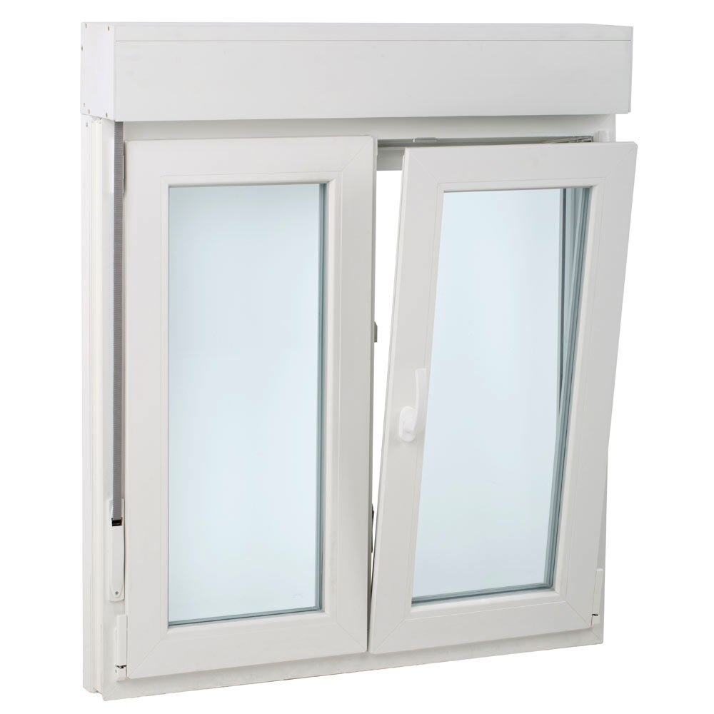 Ventana pvc 2hojas oscilo persiana basic leroy merlin - Leroy merlin ventanas pvc ...