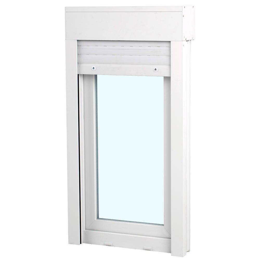 Ventana ventana pvc 58mm 1 hoja oscilobatiente persiana - Leroy merlin ventanas pvc ...