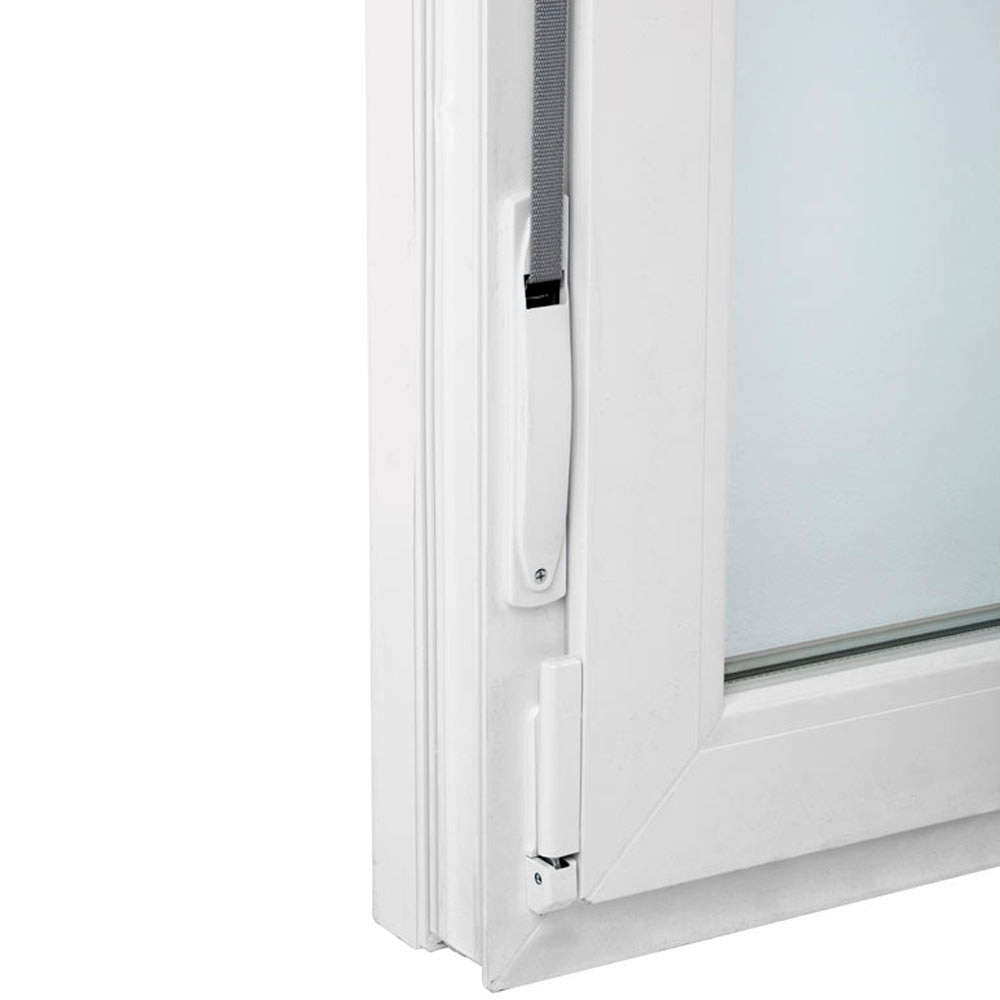Ventana ventana pvc 58mm 2 hojas oscilobatiente persiana for Infissi pvc leroy merlin