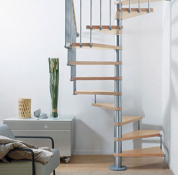 Escalera de caracol cube ref 13928040 leroy merlin - Escaleras de caracol minimalistas ...