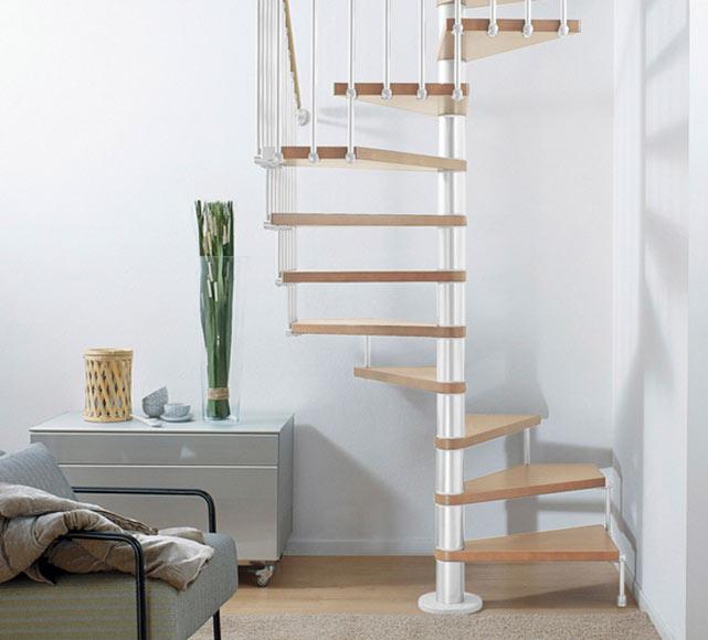 Escalera de caracol cube ref 13928103 leroy merlin for Ver escaleras de caracol